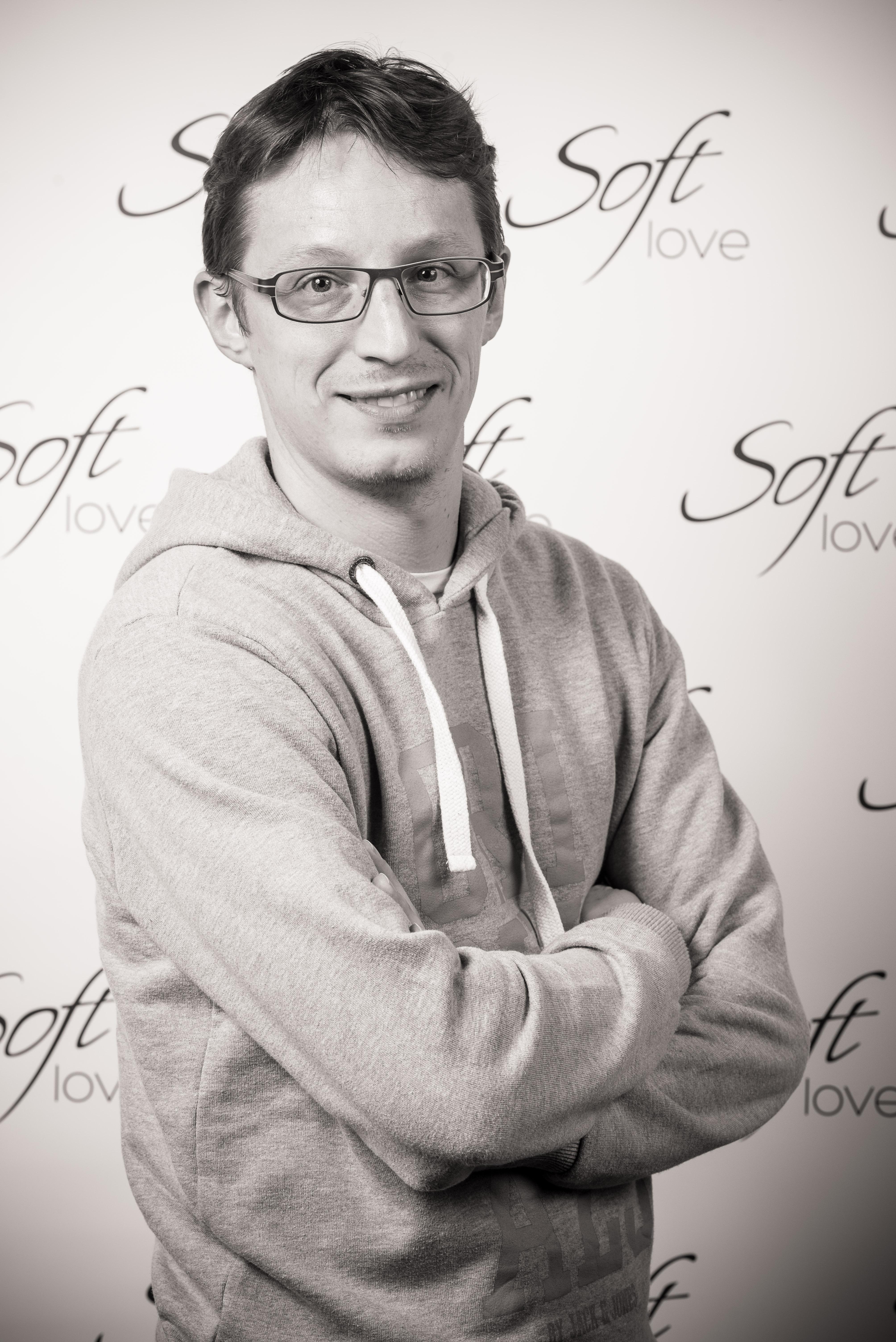 Thomas, manager Softlove de Namur